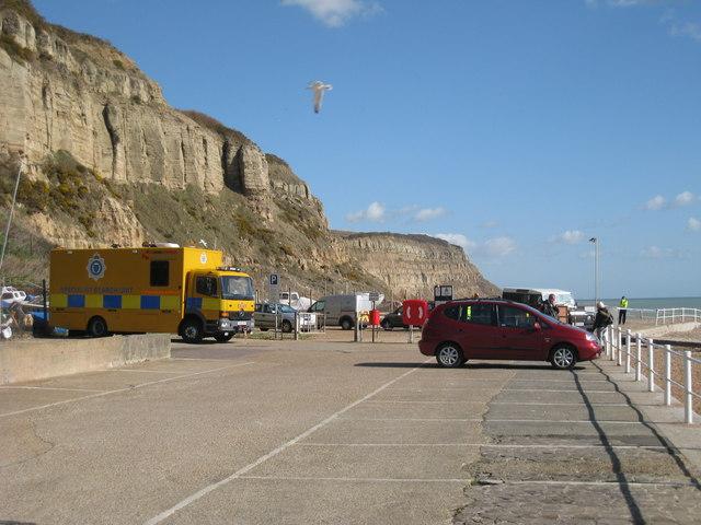 Car Park near East Cliff