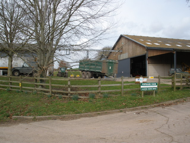 Pophams Farm, near Colaton Raleigh