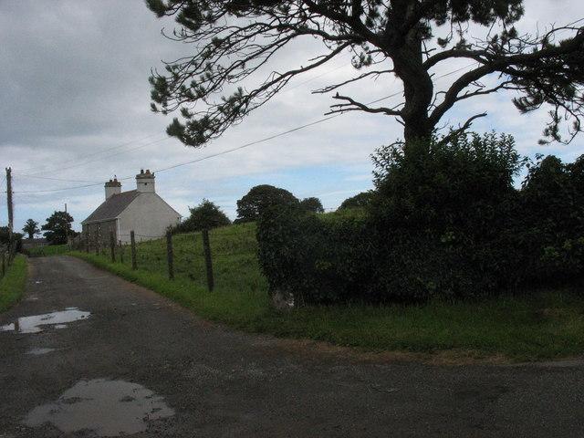 Lane leading to Ponc yr Efail