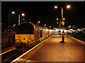 NN1074 : Night-time scene at Fort William Station : Week 9