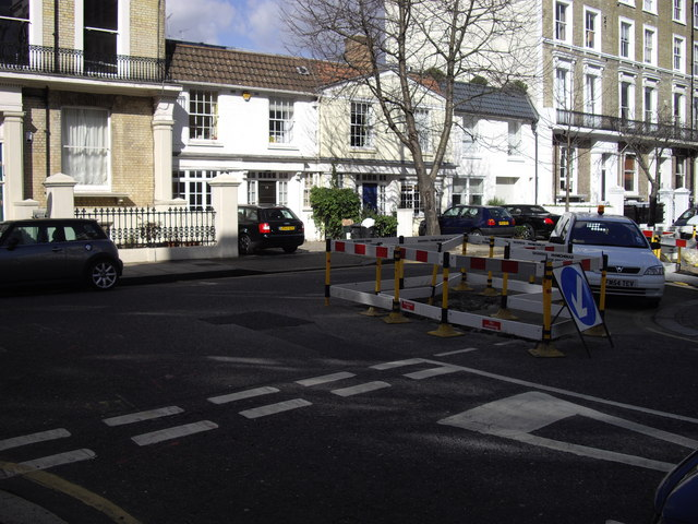 Road Works at Junction