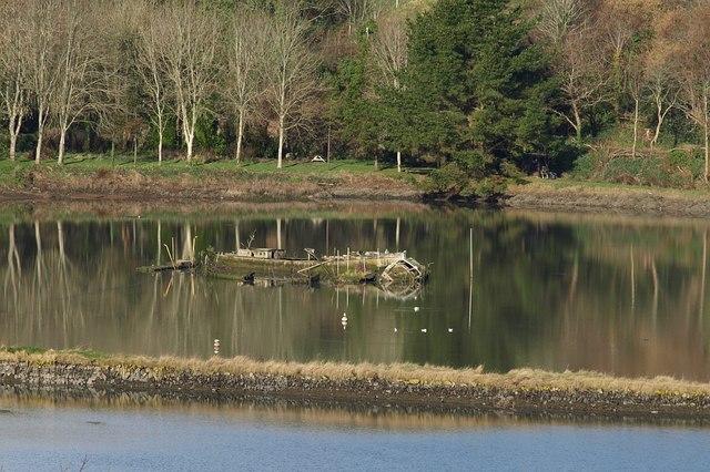 Tidal Mill Pond, Forder Creek