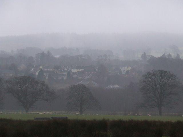 Inverkip in the mist