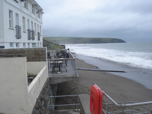 Aberdaron - the beach