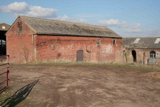 Farm buildings at Carr farm