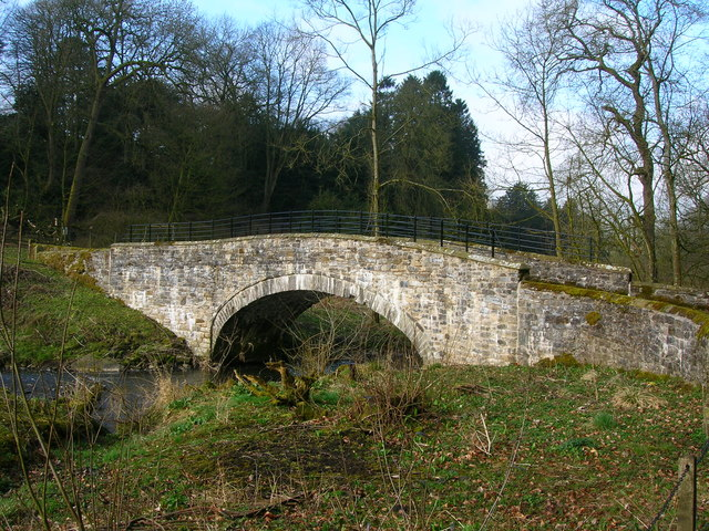 Bridge over Stock Beck