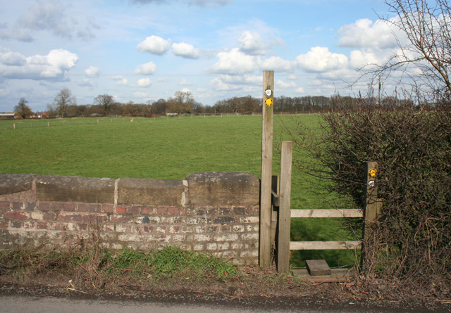 Stile on the Crewe & Nantwich Circular Walk