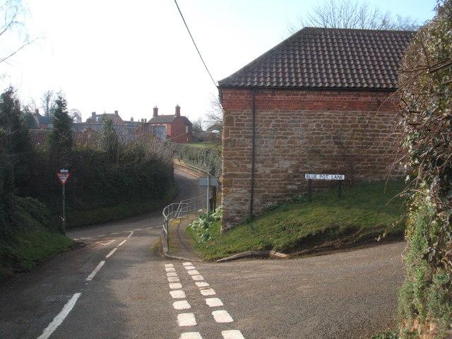 Blue Pot Lane, Eaton