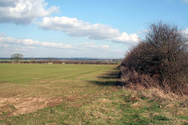 Looking towards the Wolds