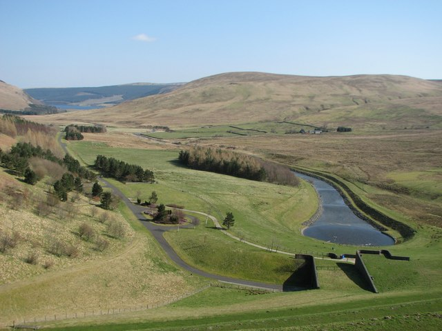 Outflow from Megget Reservoir