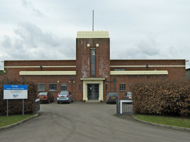 Durleigh water treatment works