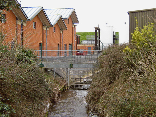 Durleigh Brook and water treatment works