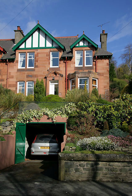 A semi-detached house in High Road, Galashiels