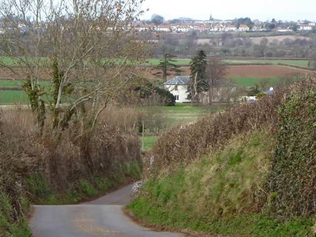 Steep descent from Dancing Hill