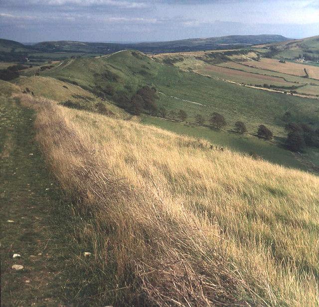 Ridge path above South Egliston