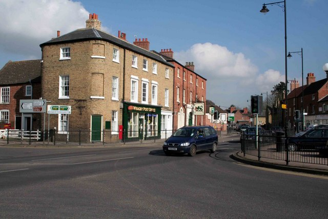 Cross Roads by Wragby Post Office