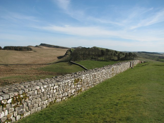 Hadrian's Wall at Housesteads Roman Fort
