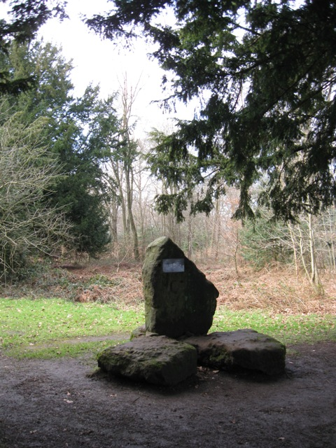Monument at the Chiltern Summit, Wendover Woods