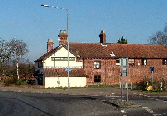 The Railway Tavern, Poringland
