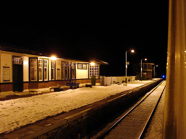 Station buildings at Spean Bridge