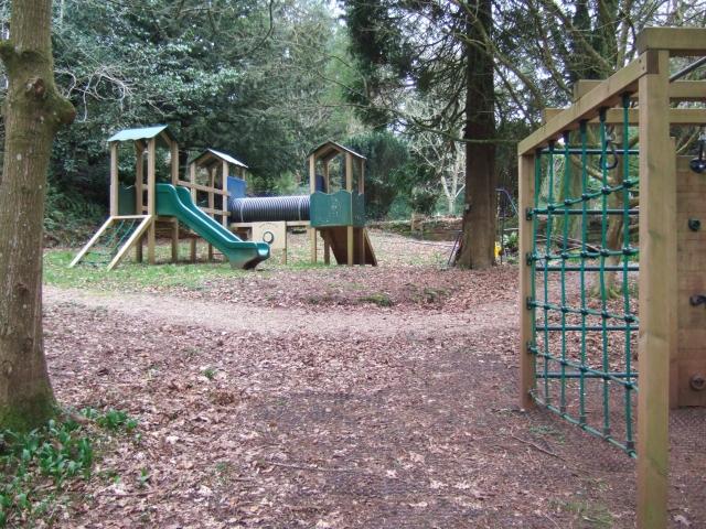 Brunel Manor: children's play area