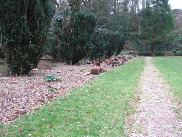 The Italian Garden at Brunel Manor
