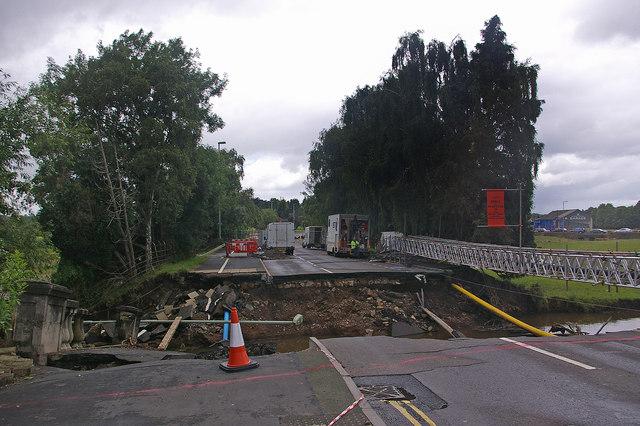 Burway Bridge collapse