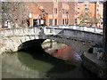 SU7173 : Canal Bridge, London Street, Reading : Week 9