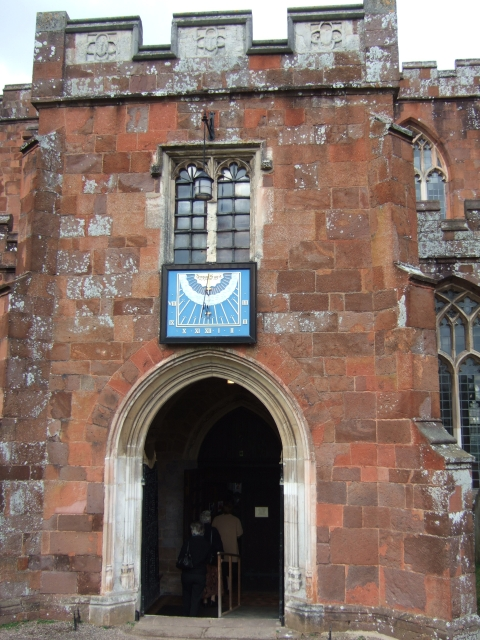 Porch of Crediton Church