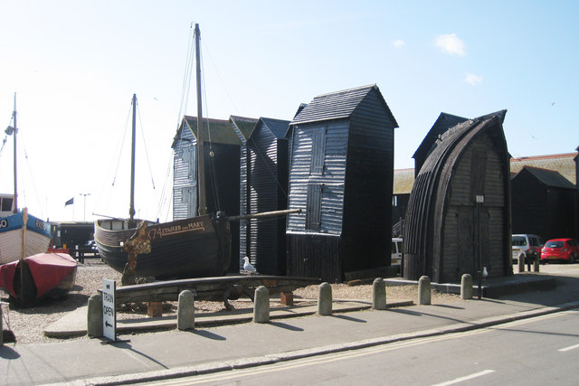 Net Huts, Hastings Old Town