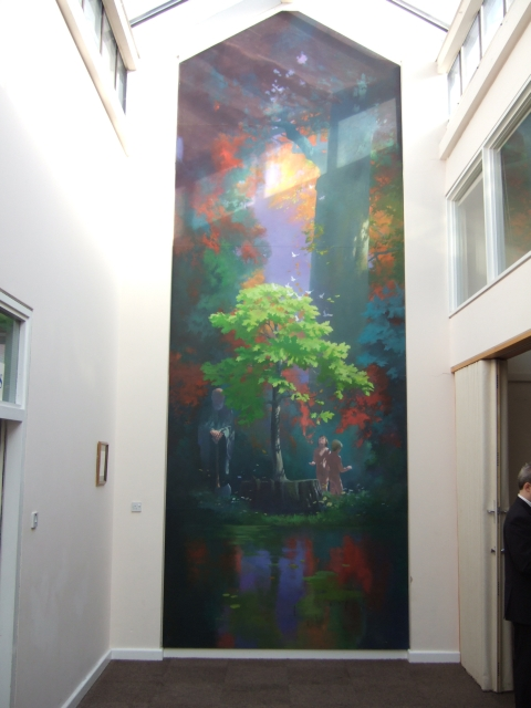 Mural in the Boniface Centre