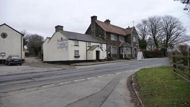 Fox and Hounds Public house near Bridestowe.