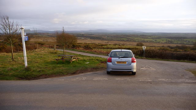 Road junction at Deckport Cross