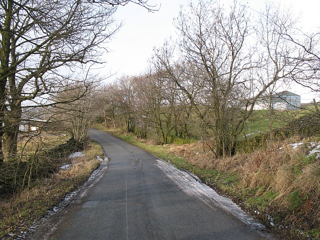 Road by Fisher Tarn