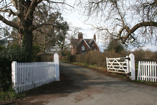 Driveway to Brook House Farm, Minshull Vernon