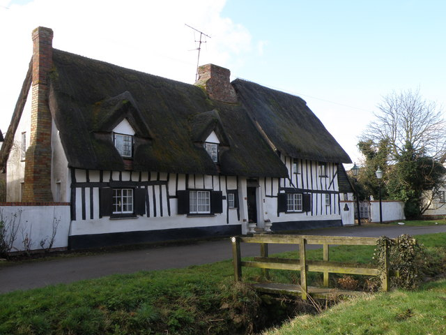 Timber frame and thatch
