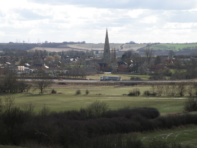 Spaldwick from Beltons Hill