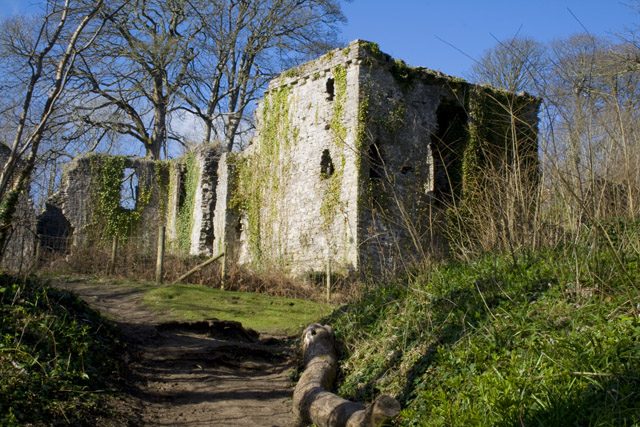 Candleston Castle Ruins