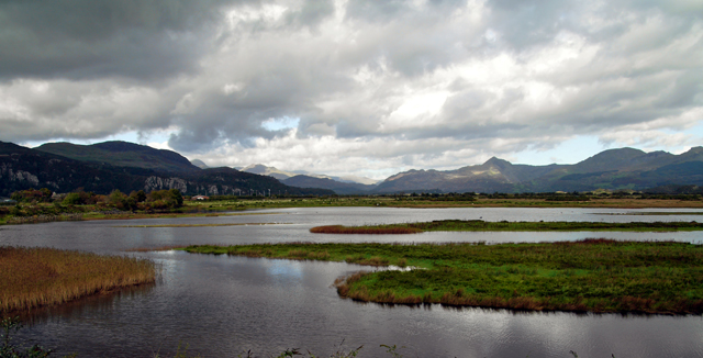 View from Porthmadog