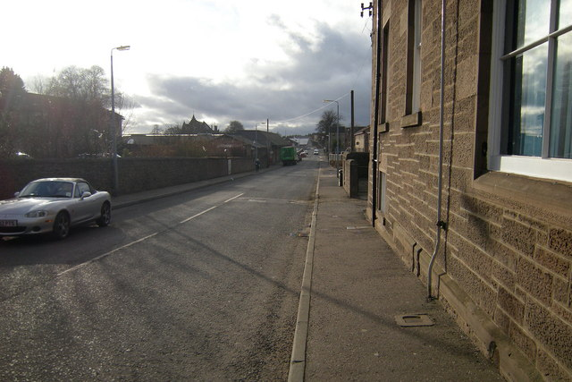 Don Street, Forfar looking west
