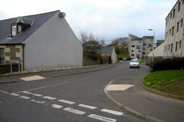 View of Bell Place, Forfar
