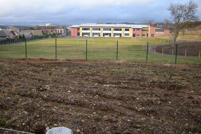 View of Whitehills Primary School, Forfar