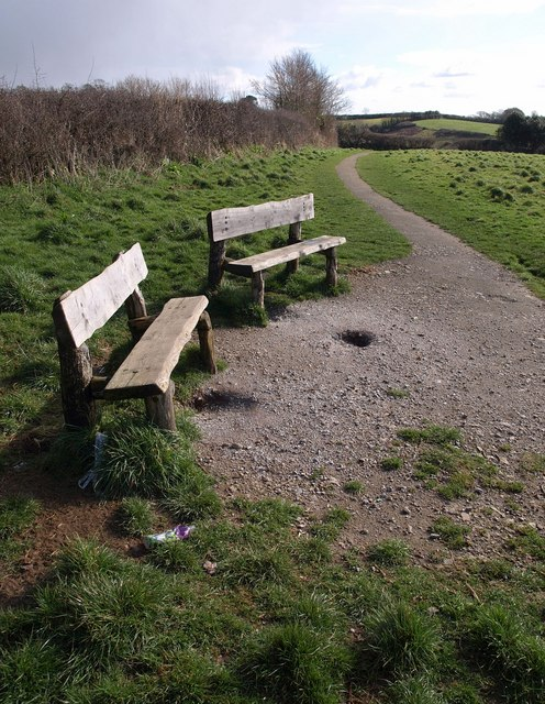 Seats, Churchtown Farm Community Nature Reserve
