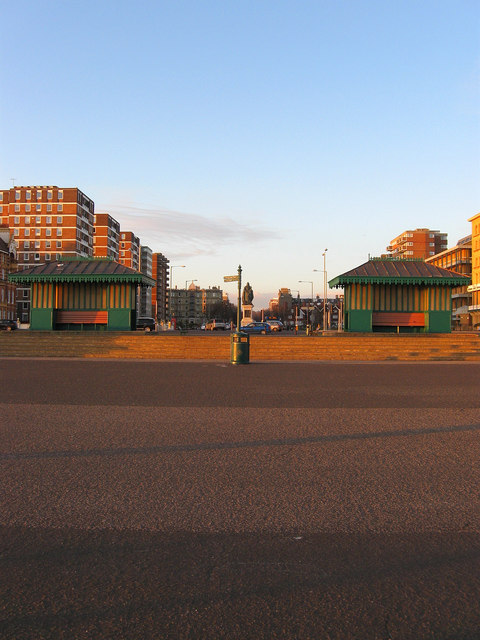 Shelters, King's Esplanade
