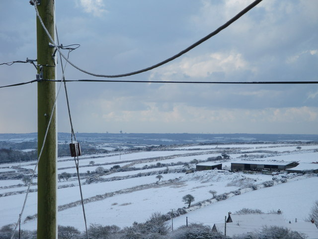 Cliftures Farm in snow