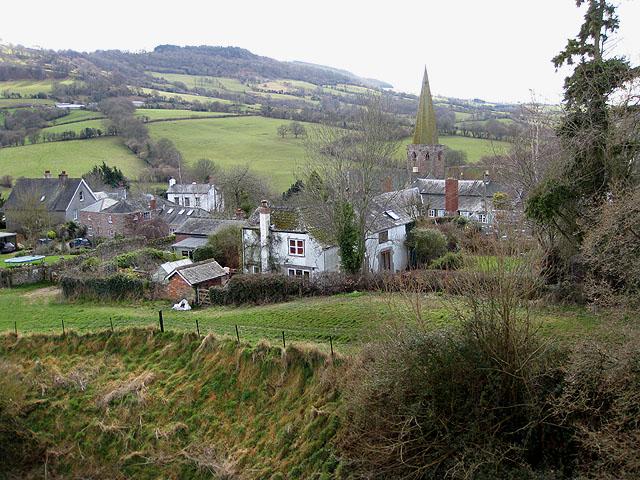 The village of Grosmont