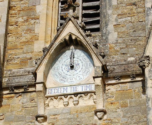 Clock, Netherfield church