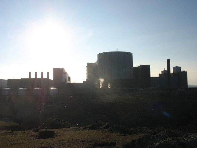 Twin nuclear reactors - Wylfa and the Sun