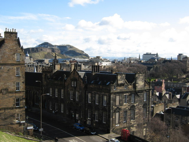 Old town and Arthur's Seat