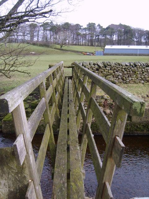 Footbridge, Marshaw Wyre